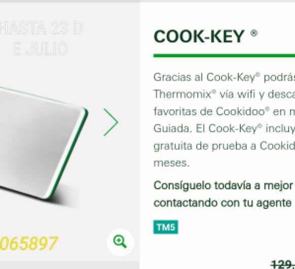COOK KEY CON DESCUENTO